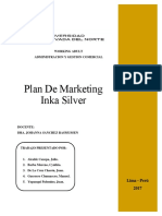 Plan Estratégico Marketing - InKA SILVER