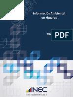 informacion ambiental en hogares 2016
