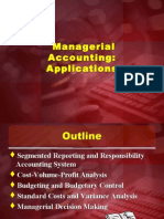 Managerial Accounting Applications