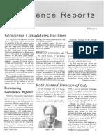 GRISDA Reports