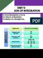 Unit 4 App of Integration