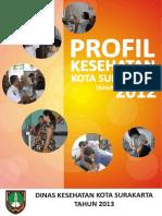 Profil Kesehatan Kota Surakarta Tahun 2012