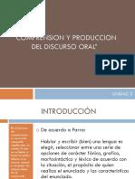 Unidad 2 Produccion Oral