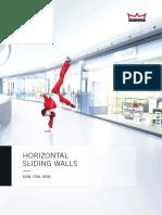 DORMA Horizontal Sliding Wall