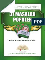37 Masalah Populer - Abdul Somad