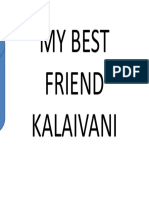 My Best Friend Kalaivani