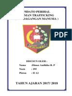PIDATO perdagangan manusia