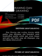 ADP Kelompok Shop Drawing Dan as Built Drawing