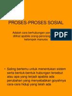 PROSES-PROSES SOSIAL