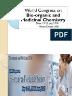 World Congress on Bio-organic and Medicinal Chemistry