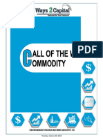 Commodity Research Report 29 January 2018 Ways2Capital