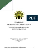 Kumpulan Peraturan Pp Muhammadiyah