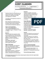 Microorganism Notes