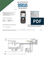 Nokia 5500 RM-86 RM-87 Schematics V1.0