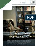 Dr. de la Fuente en la revista Telva