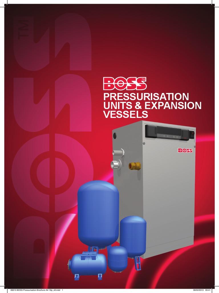 BOSS™ Pressurisation Units and Expansion Vessels PDF   PDF ...
