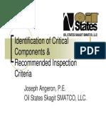 Critical Component of Crane Insp. OCC25