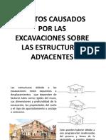 excavaciones adyacentes y sus riesgos