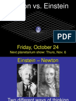 Einstein and Newton View on Gravitation