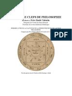 Basilio Valentin - Les Douze Clefs de Philosophie