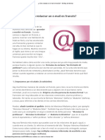 ¿Cómo Redactar Un E-mail en Francés_ - El Blog de Idiomas