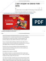 Así Es El Duelo Por Ocupar La Casilla Más Cara Del Monopoly