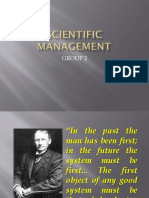 Scientific Management Edited