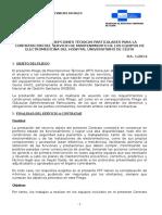 DOC20141114142850PLIEGO+PRESCRIPCIONES+TECNICAS+SERVICIO+ELECTROMEDICINA