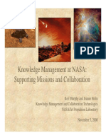 Knowledge Management in NASA