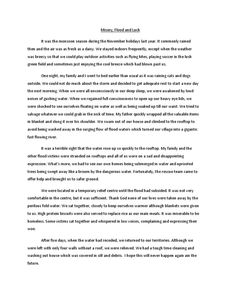 Bud Not Buddy Essay Flood Essay Essay On Flood By Rupam Dey