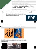 H&M, Obligado a Retirar Unos Calcetines_ 'Los Clientes Vieron en Ellos a Alá'