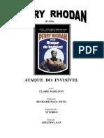 P-058 - Ataque Do Invisível - Clark Darlton