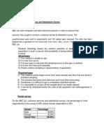 Discuss the Advantages and Disadvantages of Random Sampling and a Postal Survey