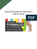 Guia Estudiant Practicum II 2017-2018