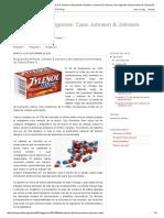 Ética Para Los Negocios_ Caso Johnson & Johnson_ Descripción Del Tema_ Johnson & Johnson y Las Cápsulas Envenenadas de Tylenol (Parte 1)