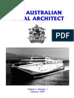Australian Naval Architect Febuary 1999