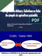 Agricultura Urbana - Cuba