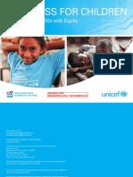 Progress for Children Equity 2010