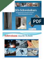 Elektroden-Schweisskurss-Unterlage