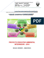 Plan de Trabajo Ambiental 2014