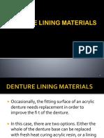 Denture Lining Materials 2