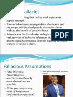 Informal Fallacies (1)