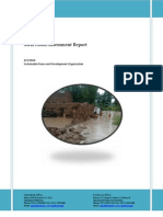 Swat Flood Assessment Report 3rd August 2010