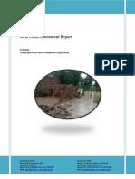 Swat Flood Assessment Report 3rd August 2010