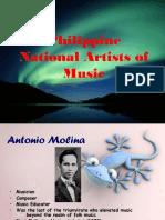 Philippine National Artist of Music