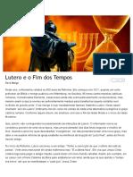 Lutero e o Fim Dos Tempos _ Chamada
