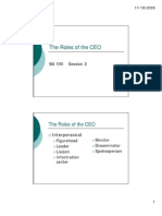02 the Roles of the CEO