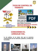 Dispositivos de Control de Transito Codigo Civil y Penal
