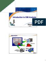 5 OIM Analysis