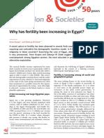 Fertility in Egypt